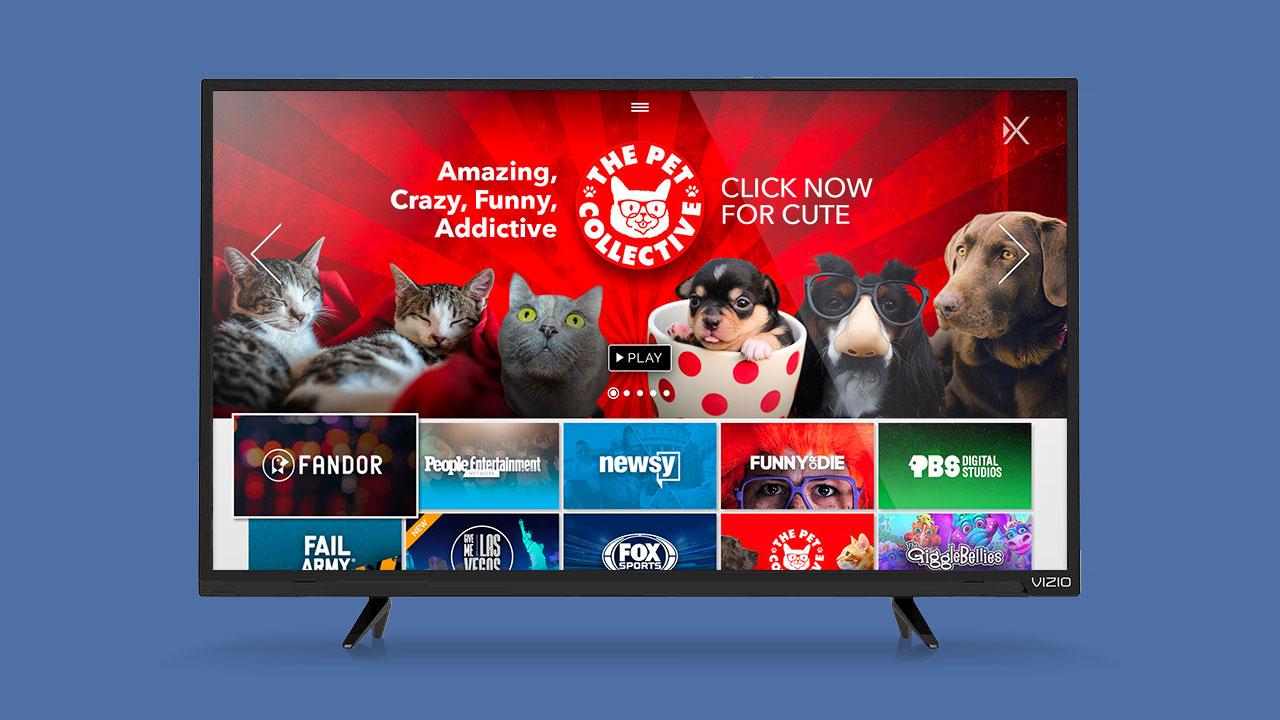 Xumo TV UI