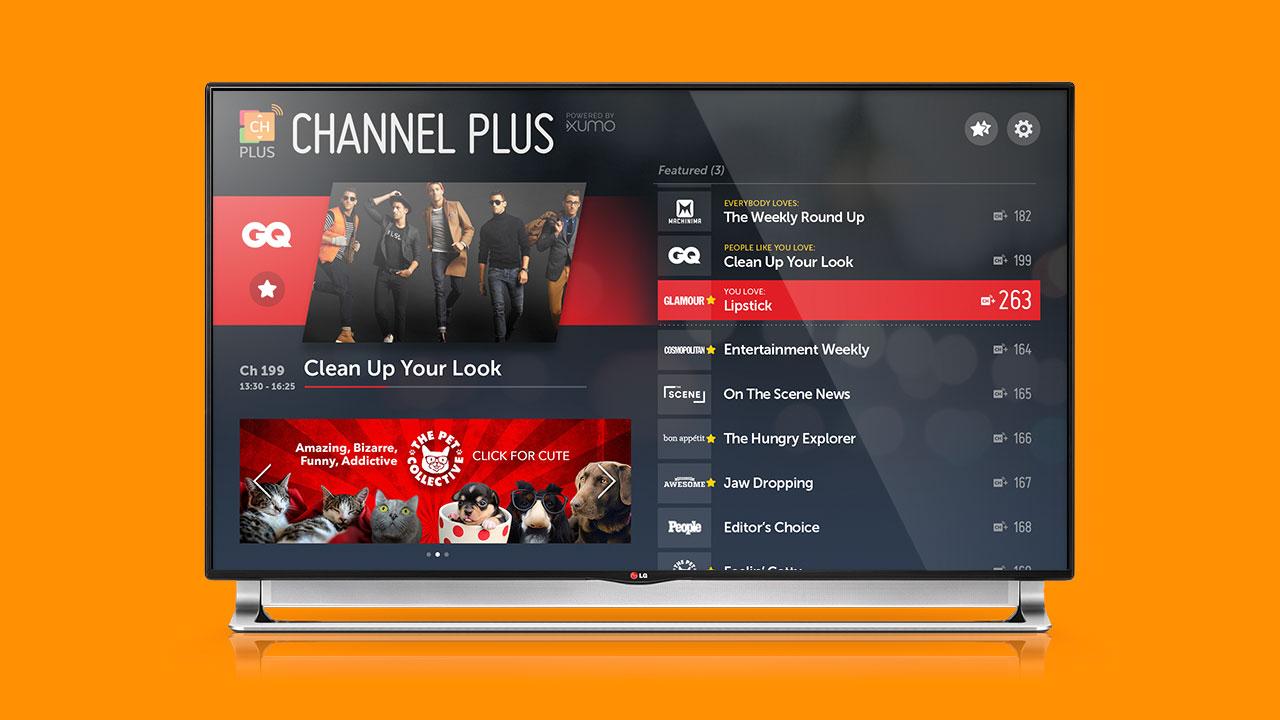 Channel Plus TV app for LG
