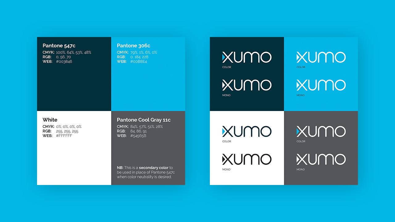 Xumo Branding